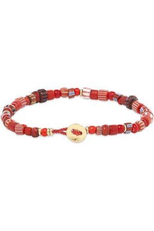 Mikia Multi Trade Glass Beaded Bracelet