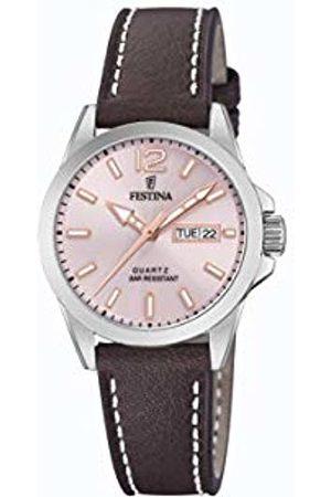 Festina Womens Analogue Quartz Watch with Leather Strap F20456/2