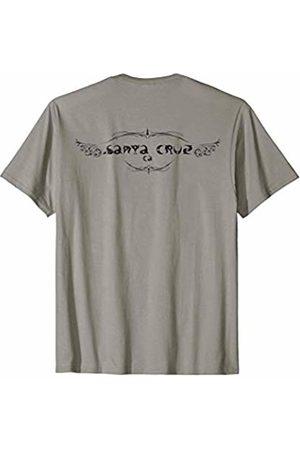 SANTA CRUZ CA. SANTA CRUZ INK GIFT BACK VIEW SANTA CRUZ CA. SANTA CRUZ INK GIFT SOUVENIR BACK VIEW T-Shirt