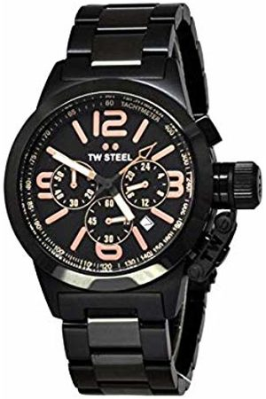 TW Steel Watch Chronograph Display and Stainless Steel Strap TW312_Plateado