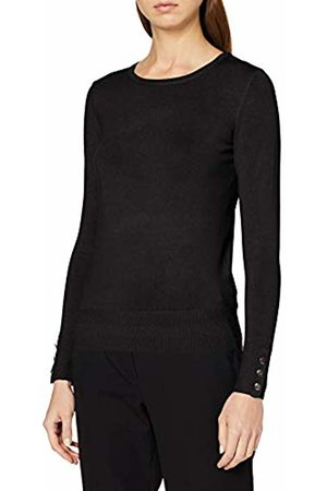 Dorothy Perkins Women's Button Cuff Fine Gauge Jumper