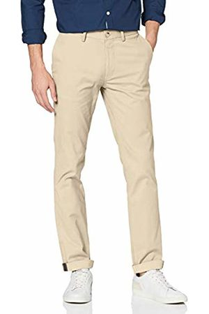 Ben Sherman Men's Slim Stretch Chino Trousers, (Putty)