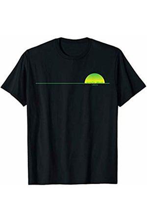 SANTA CRUZ CA. SANTA CRUZ LINE GREEN GIFT FRONT SANTA CRUZ CA. SANTA CRUZ LINE GREEN GIFT SOUVENIR FRONT T-Shirt