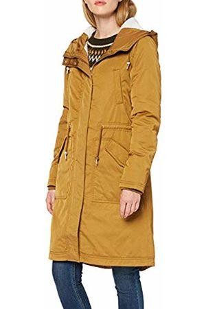 Only Women's Onlteresa Long Parka Coat OTW, Golden
