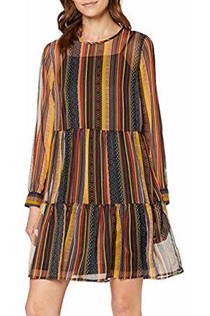 Only Women's Onlarlene L/s Dress WVN Party Golden