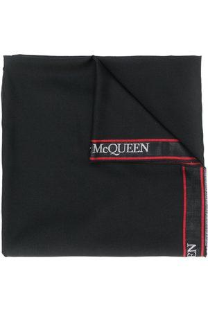 Alexander McQueen Logo trim scarf