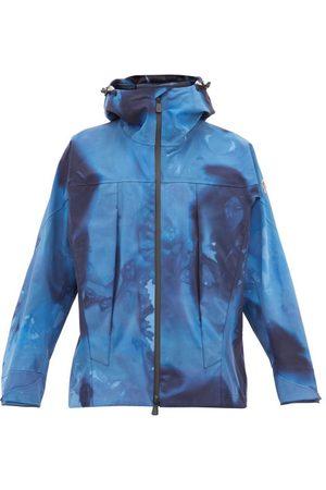 MONCLER GRENOBLE Men Ski Suits - Tie Dye Effect Technical Shell Hooded Jacket - Mens