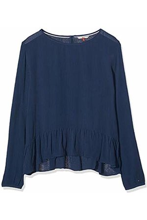 Tommy Hilfiger Women's Basic Blouse Long Sleeve Top