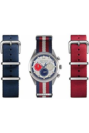 Oxygen Long Island 40 Set Unisex Quartz Watch with Dial Analogue Display and Nylon Strap