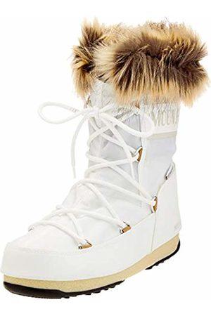Moon-boot Unisex Adults Monaco Low Wp2 Snow Boots, (Bianco 002)