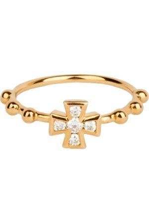 ROSA DE LA CRUZ Baroque Boules Cross Ring
