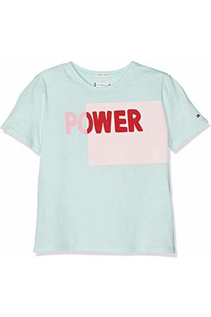 Tommy Hilfiger Girl's Bold Blocking Text S/s Tee T-Shirt