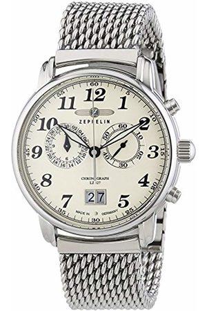 Zeppelin Men's Watch LZ127 Graf XL Chronograph Quartz Stainless Steel 7684 M5