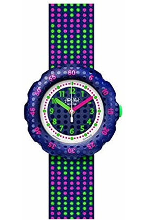 Flik Flak Girl's Analogue Quartz Watch with Synthetic Strap FPSP037
