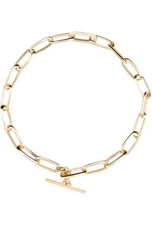 Lizzie Mandler 18kt chain link bracelet