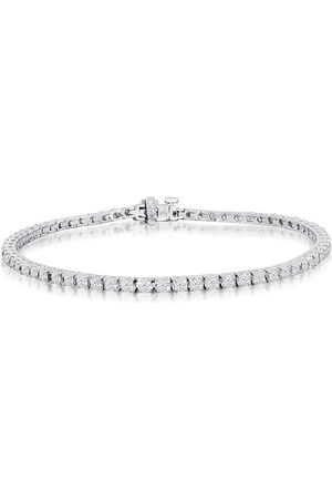 SuperJeweler 7.5 Inch, 3.21 Carat Diamond Men's Tennis Bracelet in 14K , I/J