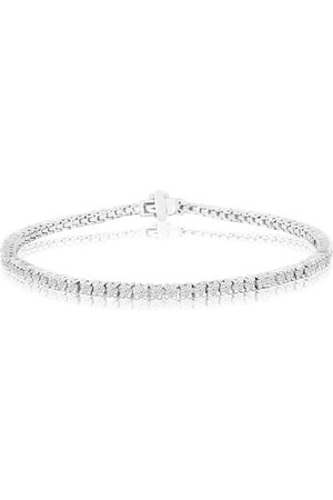 SuperJeweler 9 Inch 2.60 Carat Diamond Men's Tennis Bracelet in 14K (10 g), I/J