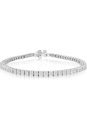 SuperJeweler 7.5 Inch 14K 4 1/4 Carat Diamond Men's Tennis Bracelet, J/K