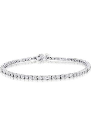 SuperJeweler 8 Inch, 3.42 Carat Diamond Men's Tennis Bracelet in 14K (11.5 g), I/J
