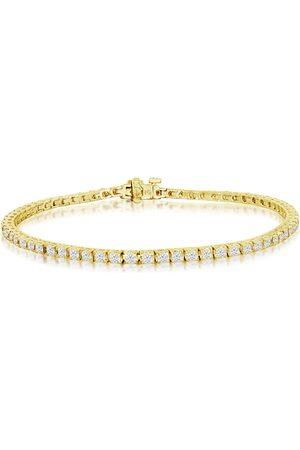 SuperJeweler 9 Inch 14K 5 Carat Diamond Men's Tennis Bracelet, J/K