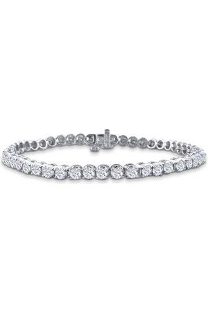 SuperJeweler 8 Inch, 3 1/2 Carat Diamond Men's Tennis Bracelet in 14K (13.1 g), I/J