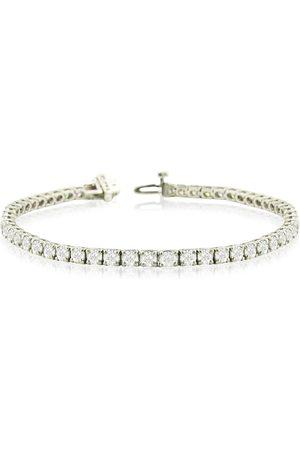 SuperJeweler 8 Inch 14K (12.8 g) 9 1/7 Carat TDW Round Diamond Men's Tennis Bracelet (J-K, I2-I3)