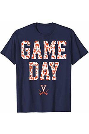 FanPrint Virginia Cavaliers Game Day 2 ^ Leopard Pattern T-Shirt