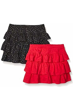 Spotted Zebra 2-Pack Knit Ruffle Scooter Skirts Sparkle/