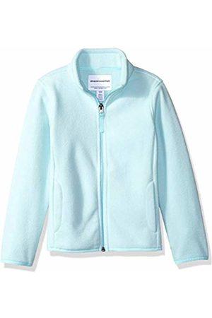 Amazon Girl's Full-zip Polar Fleece Jacket Aqua