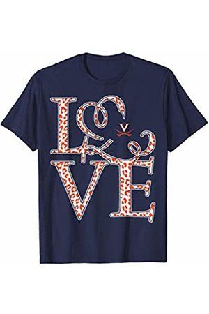 FanPrint Virginia Cavaliers Stacked Love - Apparel T-Shirt