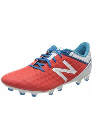 New Balance Men's Visaro Pro Fg Footbal Shoes, (Rot/Weiß Rot/Weiß)