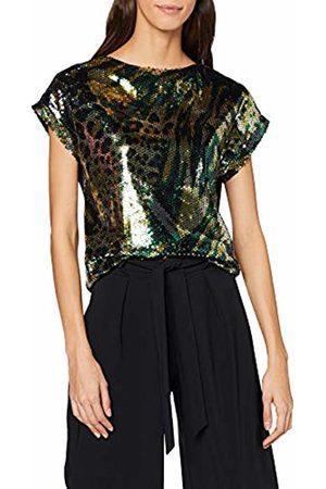 Dorothy Perkins Women's Camo Sequin Tee Vest Top