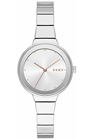 DKNY Womens Analogue Quartz Watch with Stainless Steel Strap NY2694