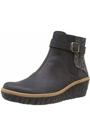 El Naturalista Women's N5133 Ankle Boots, ( /Obsidian /Obsidian)