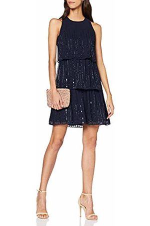 Dorothy Perkins Women's Joanie Sequin Tiered Trapeze Dress. Party