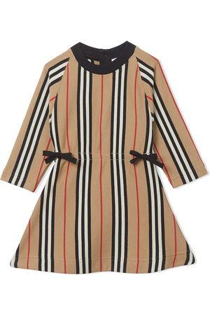 Burberry Icon Stripe midi dress