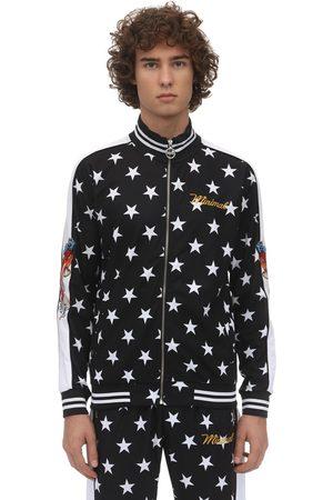 MINIMAL Zip-up Techno Sweatshirt