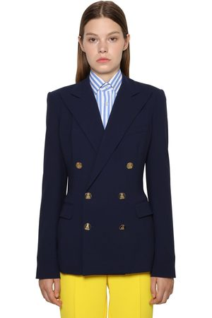 Ralph Lauren Double Breasted Cashmere Camden Jacket
