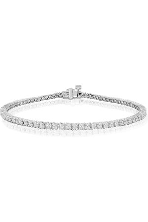 SuperJeweler 6 Inch 10K (5.4 g) 1 3/4 Carat Diamond Tennis Bracelet, J/K