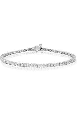 SuperJeweler 9 Inch 10K (7 g) 2.5 Carat Diamond Tennis Bracelet, J/K
