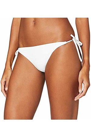Calvin Klein Women's Cheeky String Side Tie Bikini Bottoms, ( 100)