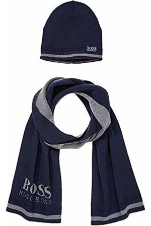 HUGO BOSS Men's Gift ainy_1 Scarf, Hat & Glove Set