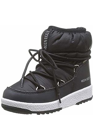 Moon-boot Moon Boot Jr Girl Low Nylon Wp, Snow Boots, Unisex Kids', (Nero 001)
