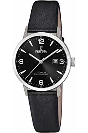 Festina Womens Analogue Quartz Watch with Leather Strap F20472/3