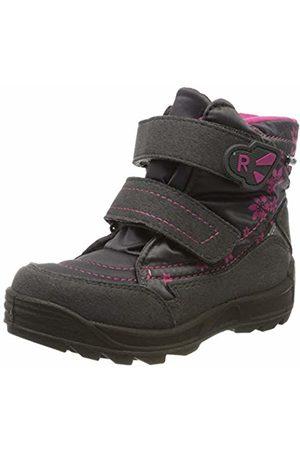 Richter Kinderschuhe Girls' Freestyle Snow Boots, (Steel/Fuchsia 6502)