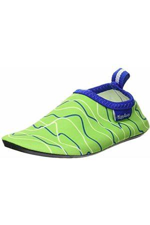 Playshoes Unisex Kids' Uv-Schutz Barfuß-Schuh Wellen Water Shoes, ((Blau/Grün 791)