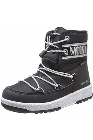 Moon-boot Jr Boy Mid Wp Snow Boots, (Nero 001)