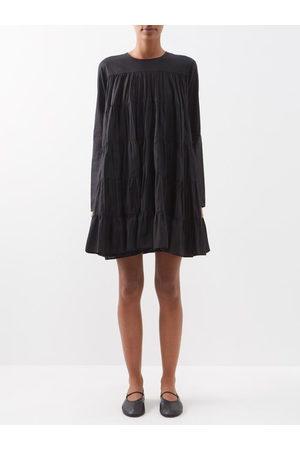 Merlette Soliman Tiered Cotton Mini Dress - Womens