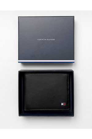 Tommy Hilfiger Eton mini billfold leather wallet in