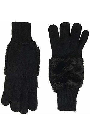 Dorothy Perkins Women's Fur and knit glove